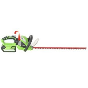 greenworks electric hedge trimmer