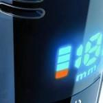 philips norelco qt4070 battery indicator setup