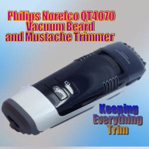 philips norelco qt4070 beard trimmer body